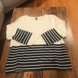 J. Crew 3/4 length sleeve shirt